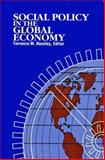 Social Policy in the Global Economy, Hunsley, Terrance M., 0889116377