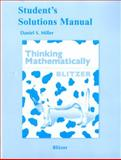 Thinking Mathematically, Blitzer, Robert F., 0321646371
