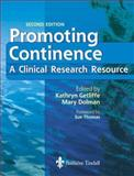 Promoting Continence : A Clinical and Research Resource, Getliffe, Kathryn and Dolman, Mary E., 0702026379