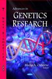 Advances in Genetics Research, Volume 1, , 1606926381