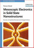 Mesoscopic Electronics in Solid State Nanostructures, Heinzel, Thomas, 3527406387