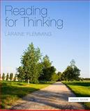 Reading for Thinking, Laraine E. Flemming, 0495906395