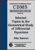 Selected Topics in the Geometrical Study of Differential Equations, Kamran, Niky, 0821826395