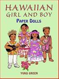 Hawaiian Girl and Boy Paper Dolls, Yuko Green, 0486296393