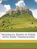 Vacunalia, Essays in Verse, with Some Translations, Edward Davies, 1141266393