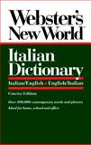 Webster's New World Italian Dictionary, Webster's New World Staff, 0139536396