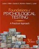 Foundations of Psychological Testing : A Practical Approach, Lovler, Robert L. and Miller, Leslie A., 1412976391