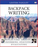 Backpack Writing, Faigley, Lester, 0205846394