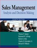 Sales Management : Analysis and Decision Making, Ingram, Thomas N. and LaForge, Raymond W., 0765626403