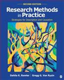 Research Methods in Practice : Strategies for Description and Causation, Remler, Dahlia K. and Van Ryzin, Gregg G., 1452276404