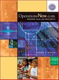 OperationsNow.com : Processes, Value, and Profitability, Finch, Byron J., 0072416408