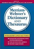 Merriam-Webster's Dictionary and Thesaurus, , 0877796408