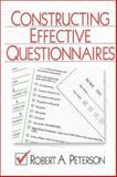 Constructing Effective Questionnaires 9780761916406