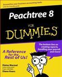 Peachtree 8 for Dummies, Elaine J. Marmel, 0764506404