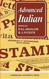 Advanced Italian, Absalom, R. N. L. and Potesta, S., 0521096405