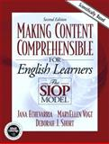 Making Content Comprehensible for English Language Learners : The SIOP Model, Echevarria, Jana and Vogt, MaryEllen, 0205386415