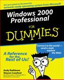 Windows® 2000 Professional for Dummies®, Andy Rathbone and Sharon Crawford, 0764506412