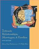 Intimate Relationships, Marriages, and Families with Free PowerWeb, DeGenova, Mary Kay and Rice, F. Philip, 0072546417