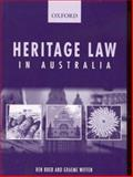 Heritage Law in Australia, Boer, Ben and Wiffen, Graeme, 0195516419