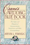 Crane's Wedding Blue Book, Steven Feinberg, 0671796410