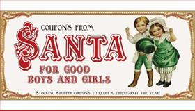 Coupons from Santa for Good Boys and Girls, Sourcebooks, Inc Staff, 1402236417