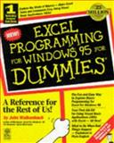 Excel Programming for Windows 95 for Dummies, Walkenbach, John, 1568846428