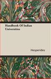 Handbook of Indian Universities, Hesperides, 1406766429
