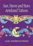 Sun, Moon and Stars Armband Tattoos, Anna Pomaska, 0486426424