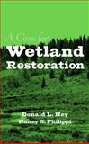 A Case for Wetland Restoration 9780471176428