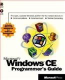 Microsoft Windows CE Programmers Guide 9781572316430