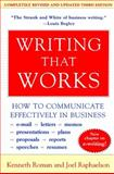 Writing That Works 9780060956431