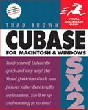 Cubase SX 2 for Macintosh and Windows, Thad Brown, 0321246438