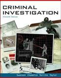 Looseleaf for Criminal Investigation, Swanson, Charles and Chamelin, Neil, 0077606434
