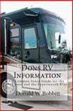 Dons RV Information, Donald W. Bobbitt, 1453796436