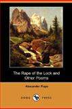 The Rape of the Lock and Other Poems, Pope, Alexander, 1406566438