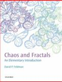 Chaos and Fractals : An Elementary Introduction, Feldman, David P., 0199566445