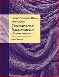 Contemporary Trigonometry 9780534466442