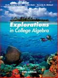 Explorations in College Algebra, Kime, Linda Almgren and Clark, Judy, 0470466448