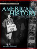 American History-Student, James Stobaugh, 0890516448