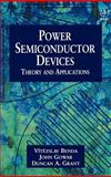 Power Semiconductor Devices 9780471976448