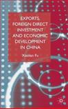 Exports, Foreign Direct Investment and Economic Development in China 9781403936448