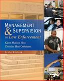 Management and Supervision in Law Enforcement 9781439056448