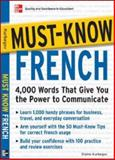 Must-Know French, Eliane Kurbegov, 0071456449
