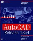 Inside AutoCAD Release 13C4 for Windows 95, Windows NT, and Windows 3.11, Pitzer, David, 156205645X