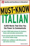 Must-Know Italian, Daniela Gobetti, 0071456457