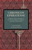 Chronicon Ephratense : A History of the Community of Seventh Day Baptists at Ephrata, Lancaster County, Penn'a, Lamech and Agrippa, 0271056452