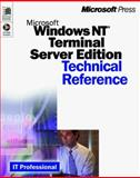 Microsoft Windows NT Server 4.0 Terminal Server : Technical Reference, Carius, Gavin and Cumberland, Brian Craig, 0735606455
