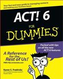 ACT!® 6 for Dummies®, Karen S. Fredricks, 0764526456