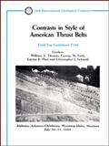 Contrasts in Style of American Thrust Belts, , 087590646X