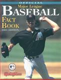 Sporting News Official Major League Baseball Fact Book, Sporting News Staff, 0892046465
